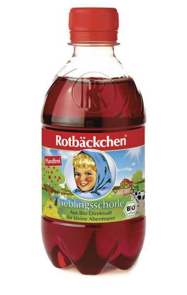 BIO ROTBACKCHEN Obraji Imbujorati. Spumant din Fructe Rosii (ROTBACKCHEN BIO-SCHORLE) - 330ml
