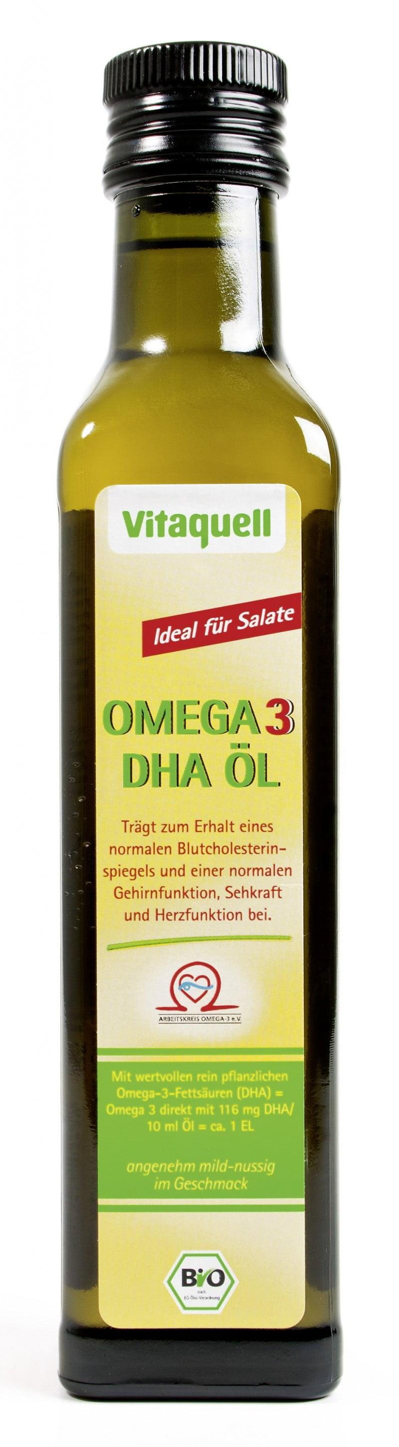 BIO Vitaquell Ulei OMEGA 3 DHA