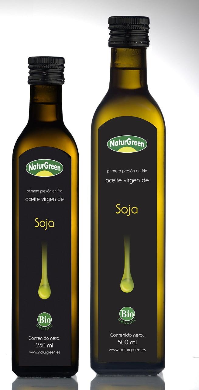 BIO NaturGreen - RAW FOOD - Ulei virgin de Soia de prima presare la rece - 250ml