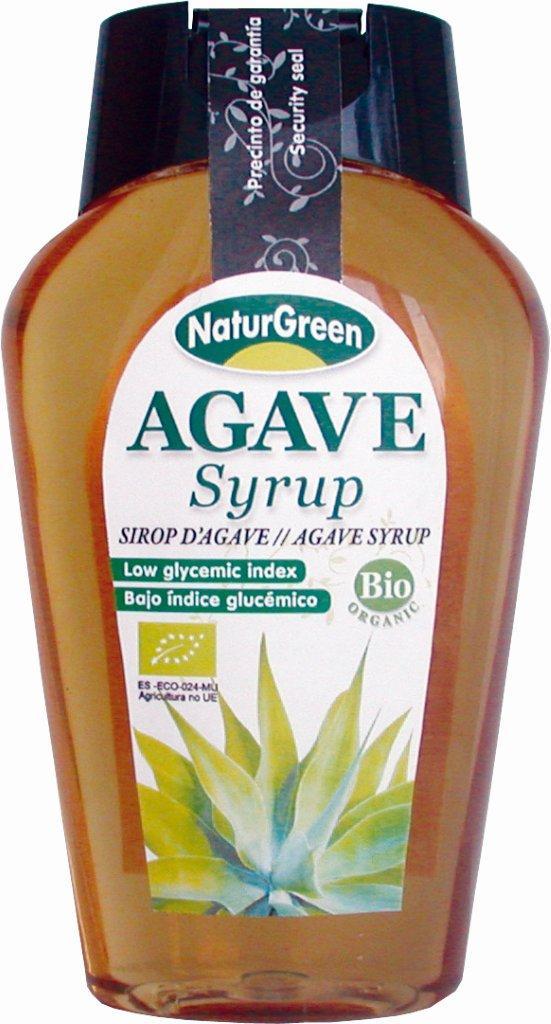 BIO NaturGreen Indulcitor Sirop de Agave cu Indice Glicemic Scazut - 344g