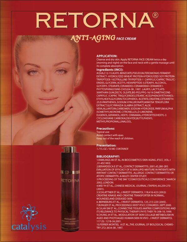 RETORNA Antiedad - crema 50ml. Poza 5662