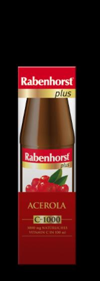 Piure de Acerola 1000mg Vitamina C/100ml - RABENHORST - 450ml