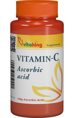 Vitamina C (Acid L-ascorbic) Pulbere Cristalizata - 150g