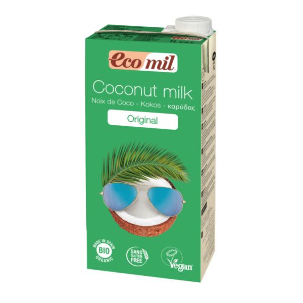 Lapte de Cocos Original, Ecologic - Bio EcoMil - 1L