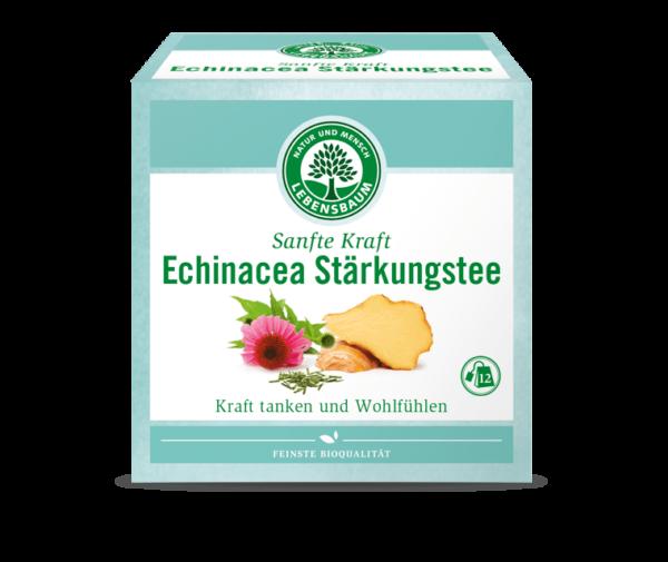 Ceai FORTIFIANT cu Echinaceea, Ecologic BIO - LEBENSBAUM - 12x2g