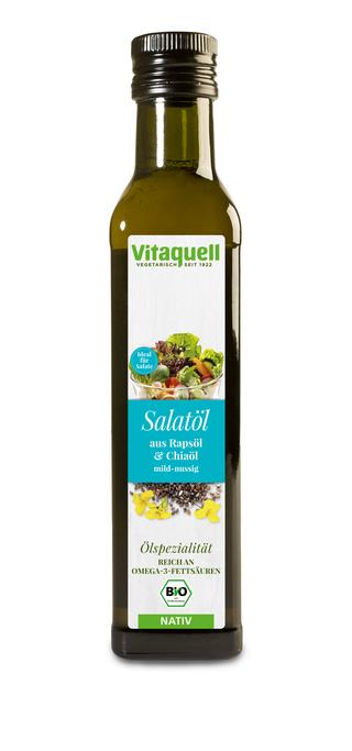 Ulei pentru Salata din Rapita si Chia, Ecologic Bio Vitaquell