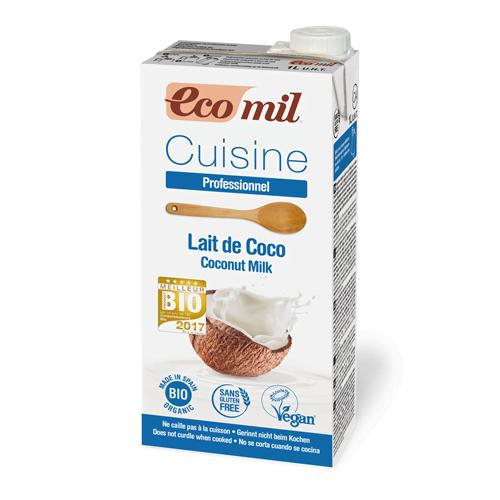 Smantana/ Crema de Cocos pentru Gatit BIO EcoMil - Cutie 1 L. Poza 5928