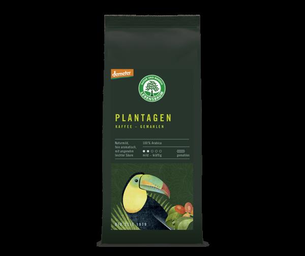 Cafea macinata PLANTATION COFFEE BIO - LEBENSBAUM - 250g. Poza 5977