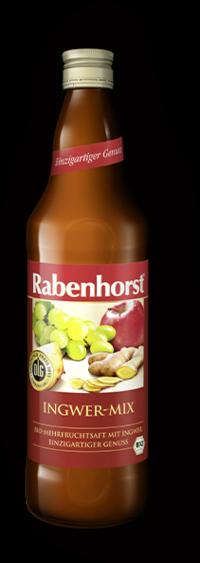 Mix de Sucuri cu Ghimbir , ecologic - Bio RABENHORST - 750 ml. Poza 6097