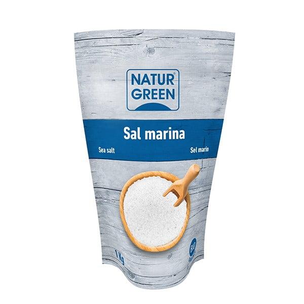 Sare de Mare Fina, Ecologica BIO NaturGreen - 1 Kg