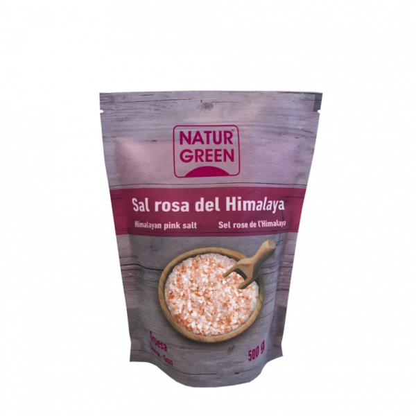 Sare roz de Himalaya NaturGreen - Fina - 500g