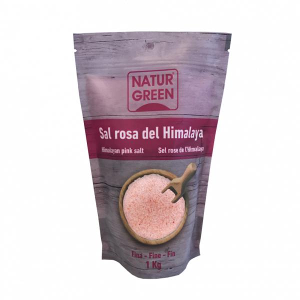 Sare roz de Himalaya NaturGreen - Fina - 1Kg