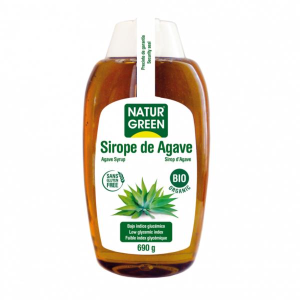 Indulcitor Sirop de Agave cu Indice Glicemic Scazut Bio - NaturGreen - 690g
