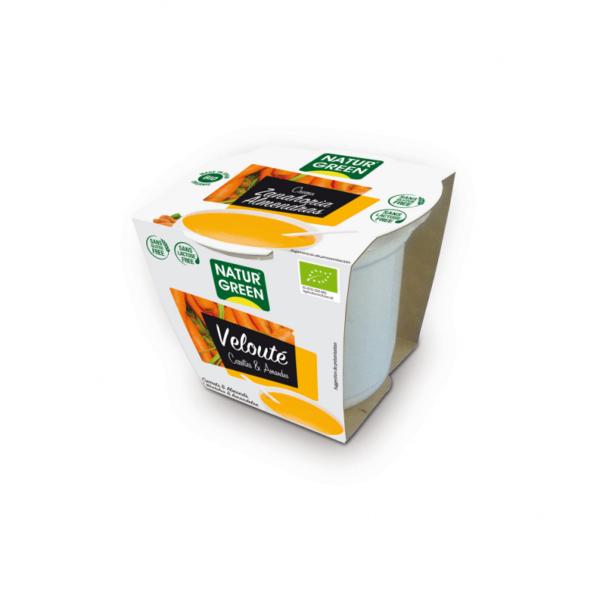 Supa crema de Morcovi si Migdale Bio - NaturGreen - 310g