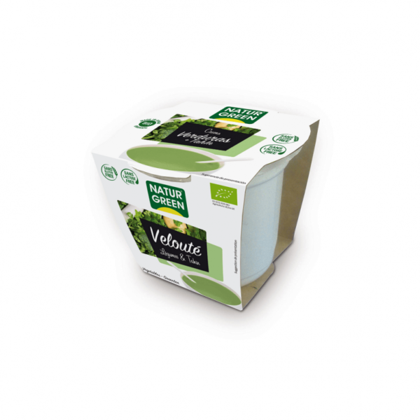 Supa Crema de Verdeturi si Tahin Bio - NaturGreen - 310g