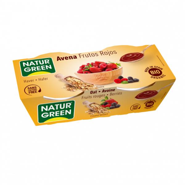 Desert Dietetic de Orez cu Fructe Rosii Bio - NaturGreen - 250g(2 x125g). Poza 6262