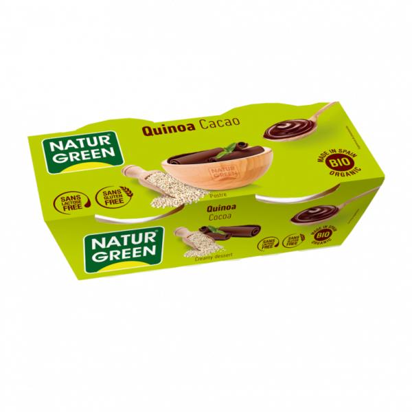 Desert de Quinoa cu Cacao, Ecologic - BIO NaturGreen - 250g(2 x 125g)