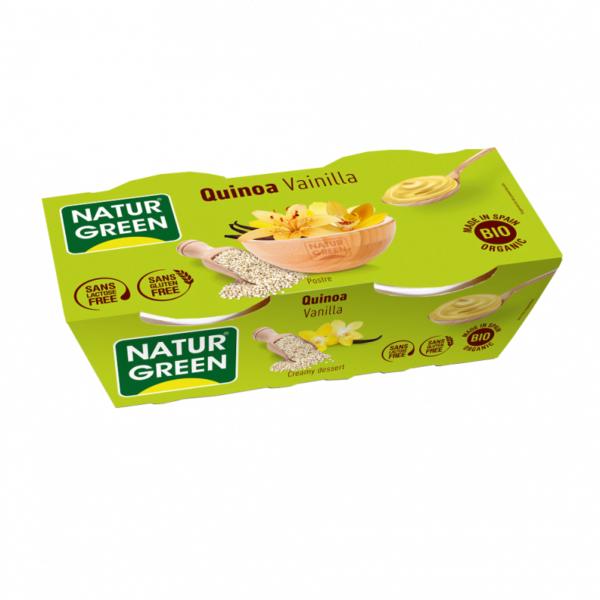 Desert de Quinoa cu Vanilie, Ecologic - BIO NaturGreen - 250g(2 x 125g)