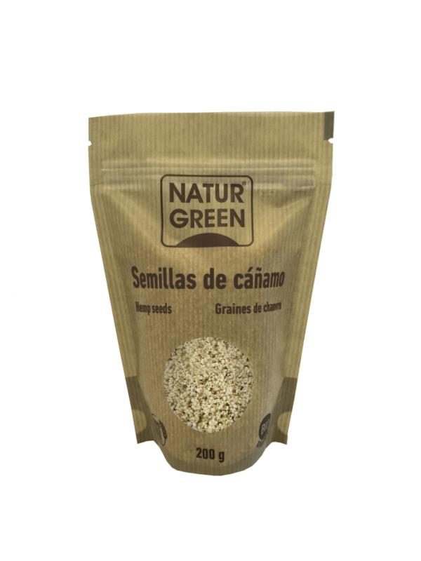 Seminte de Canepa, ecologica - Bio NaturGreen - 200g