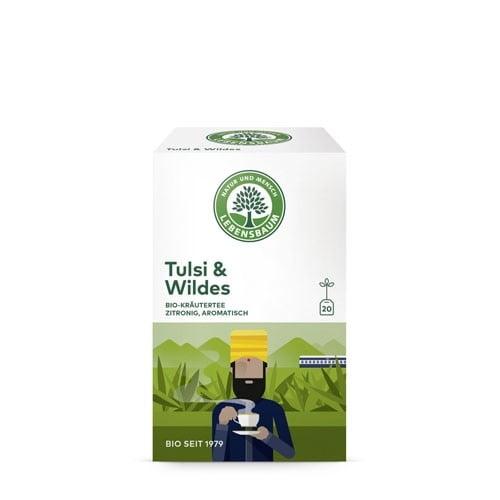 Ceai TULSI cu Ierburi Salbatice , Ecologic BIO LEBENSBAUM – 40g. Poza 6332