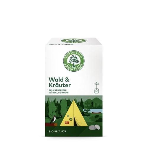 Ceai IERBURI DE PADURE, Ecologic BIO LEBENSBAUM - 20 plicuri x2g. Poza 6346