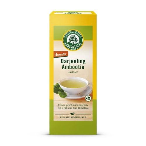 Ceai Darjeeling - plucuri de Ceai Verde Organic, BIO LEBENSBAUM - 20plicuri X1,5g. Poza 6347