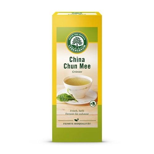Plicuri de Ceai Verde Chinezesc CHUN MEE, Ecologic BIO LEBENSBAUM. Poza 6349
