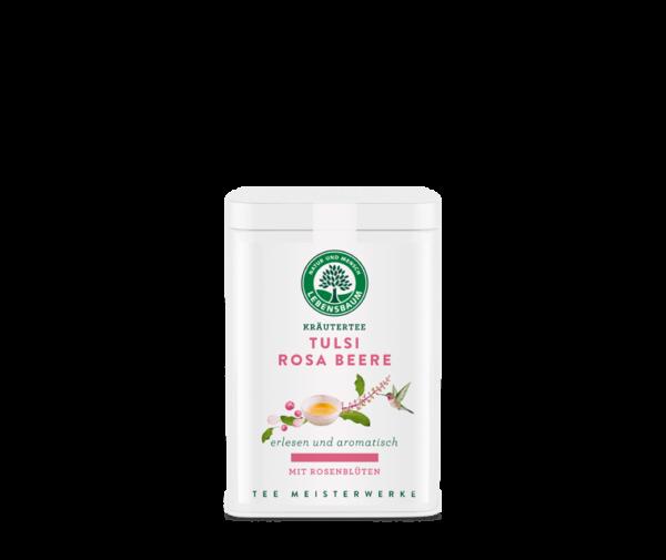 Ceai TULSI cu Fructe de Trandafir, Ecologic BIO LEBENSBAUM – 65g. Poza 6375