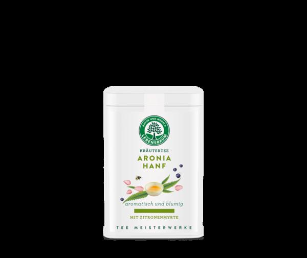 Ceai ARONIA si CANEPA, Ecologic BIO LEBENSBAUM - 55g. Poza 6380
