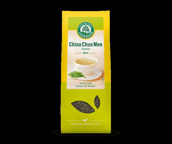 Frunze de Ceai Verde CHINA CHUN MEE, Ecologic BIO LEBENSBAUM - 200 G. Poza 6383