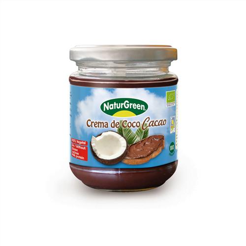 Crema de Cocos si Cacao, ecologica BIO NaturGreen - 200 g