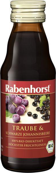 Suc de Coacaze Negre si Struguri Rosii, BIO Rabenhorst - 125 ml. Poza 6459