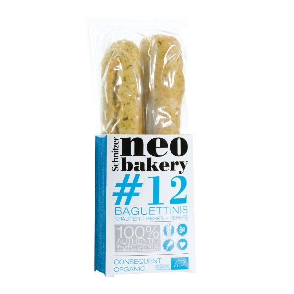 Baghete cu Ierburi Aromatice, Ecologic - BIO SCHNITZEL - 200 g. Poza 6540