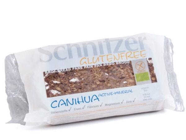 Paine cu Canihua si Minerale Active - BIO SCHNITZER - 250 g. Poza 6558