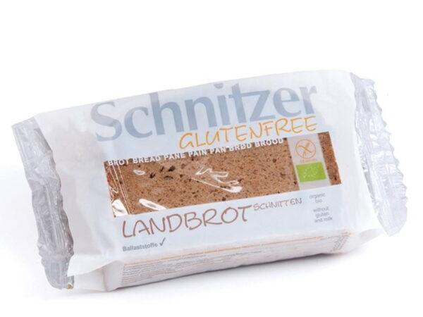 Paine Taraneasca Fara Gluten din Materiale Raw, Ecologica - BIO SCHNITZER - 250 g. Poza 6564