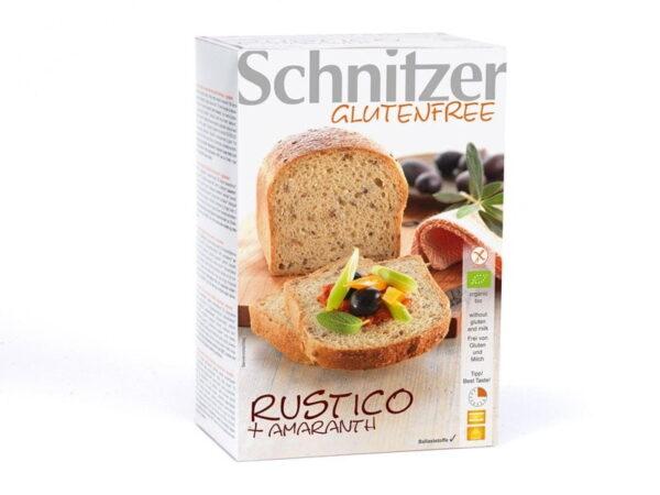 Paine Rustica cu Amaranth, Fara Gluten, Ecologica - BIO SCHNITZER - 500g. Poza 6579