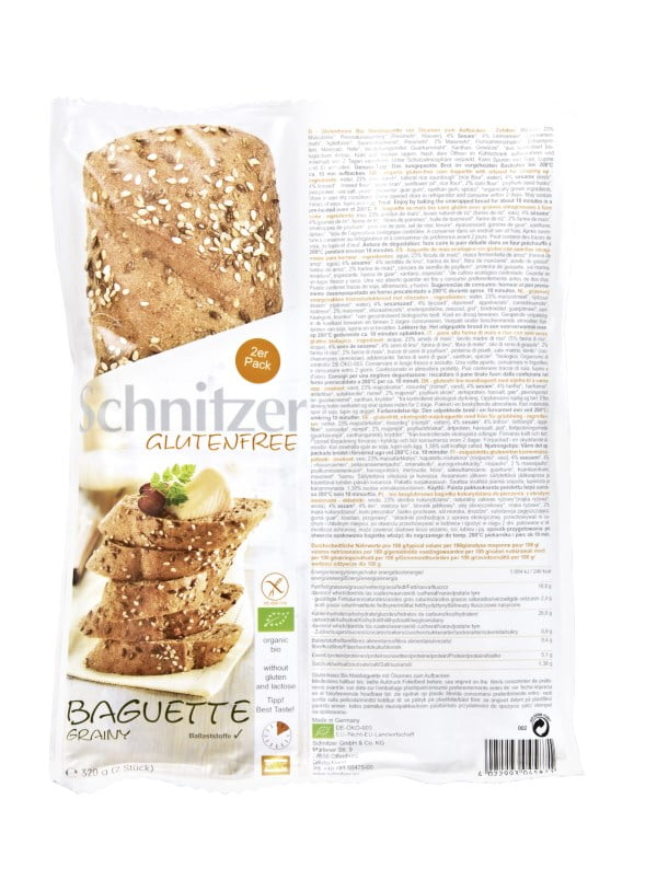 Bagehta Graham Fara Gluten, Ecologica - BIO SCHNITZER - 320 g. Poza 6587