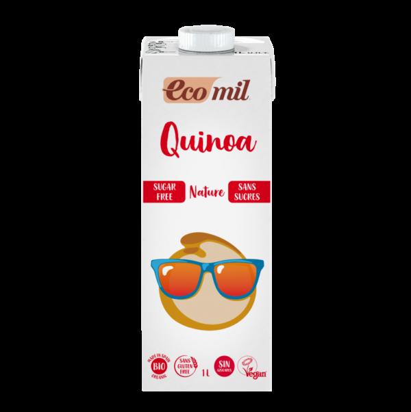 Lapte de Quinoa NEINDULCIT BIO EcoMil - cutie 1000ml. Poza 6610