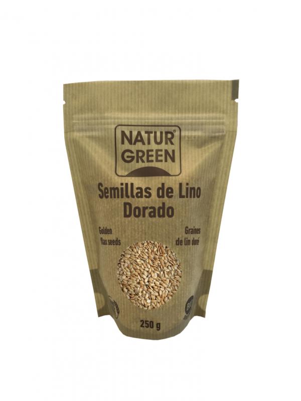 Seminte de In Auriu, ecologice - Bio NaturGreen - 250g. Poza 6629