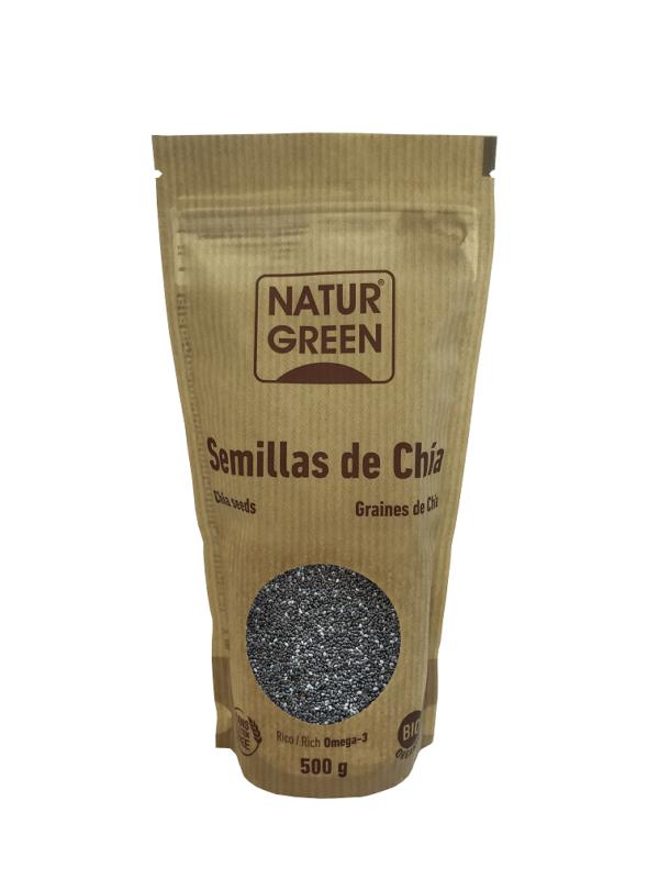 Seminte de Chia, ecologica - Bio NaturGreen - 500g. Poza 6632