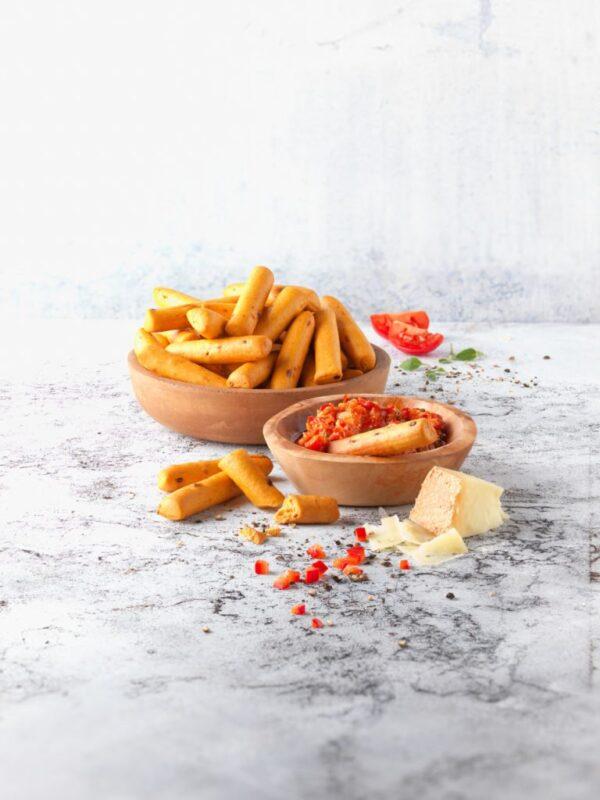 Grisine cu Aroma de Pizza, Fara Gluten, Ecologice - BIO SCHNITZER - 100g. Poza 6652