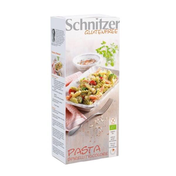 Paste Spirelli Tricolore, Fara Gluten, Ecologice - BIO SCHNITZER - 250g. Poza 6659