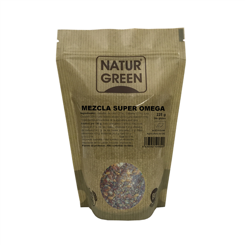 Amestec de Seminte Super OMEGA, ecologice - Bio NaturGreen - 225g. Poza 6679