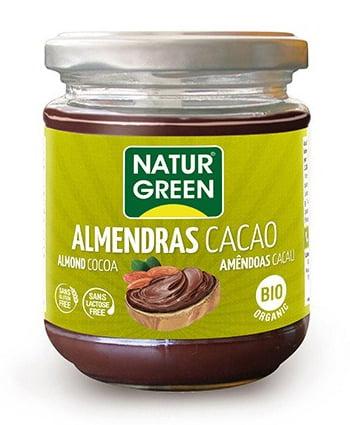 Crema de Migdale si Cacao Bio - NaturGreen - 200g. Poza 6745