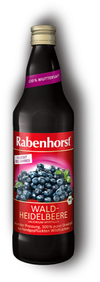 Suc de AFINE Salbatice , Ecologic -RABENHORST - 750 ml. Poza 6771