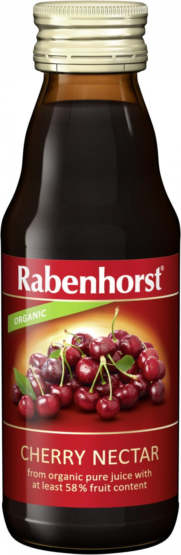 Nectar din Visine Bio - RABENHORST - 125 ml. Poza 6780