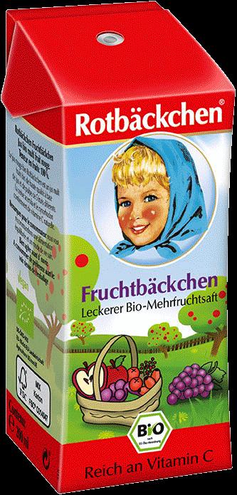 Suc Multifruct, ecologic Bio ROTBACKCHEN - cutie tetra pack 200 ml. Poza 6794