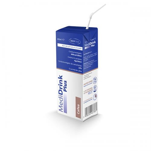 MediDrink Plus Cafea - 200ml